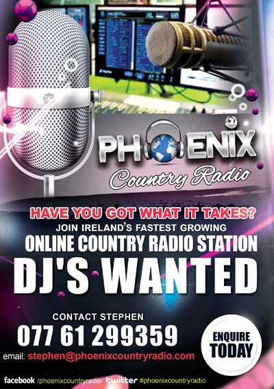 Phoenix Country Radio DJ Wanted