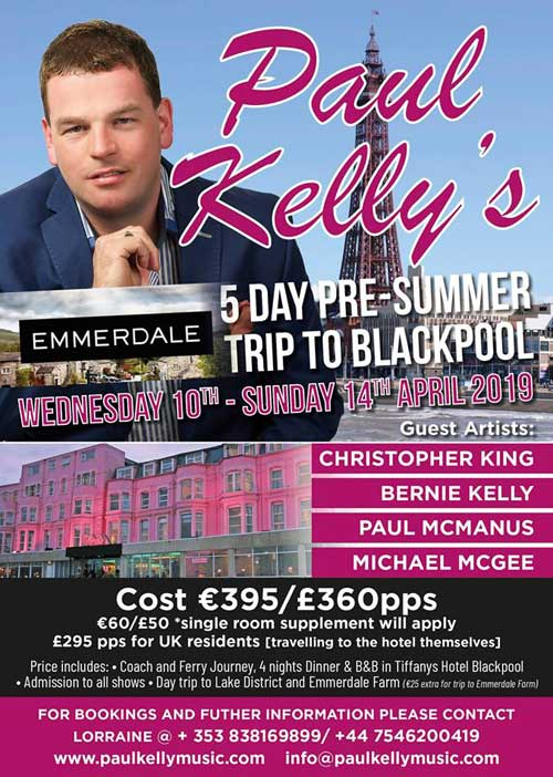 Paul Kelly's Summer Trip